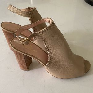 Kate Spade size 8 nude shoes